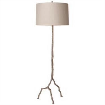 Design dump affordable find twig floor lamp for Silver twig floor lamp