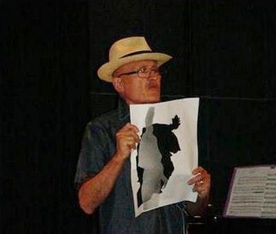 Jean Mas, Artiste de l'ECOLE de NICE, Lecture Lettriste du texte sur André Verdet
