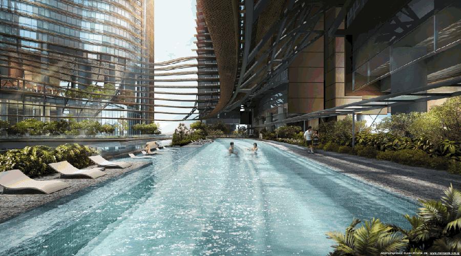 Marina One Residences Swimming Pool