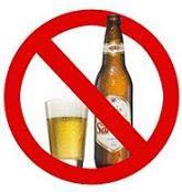 Bebidas alcoólicas nas festas             da Igreja.