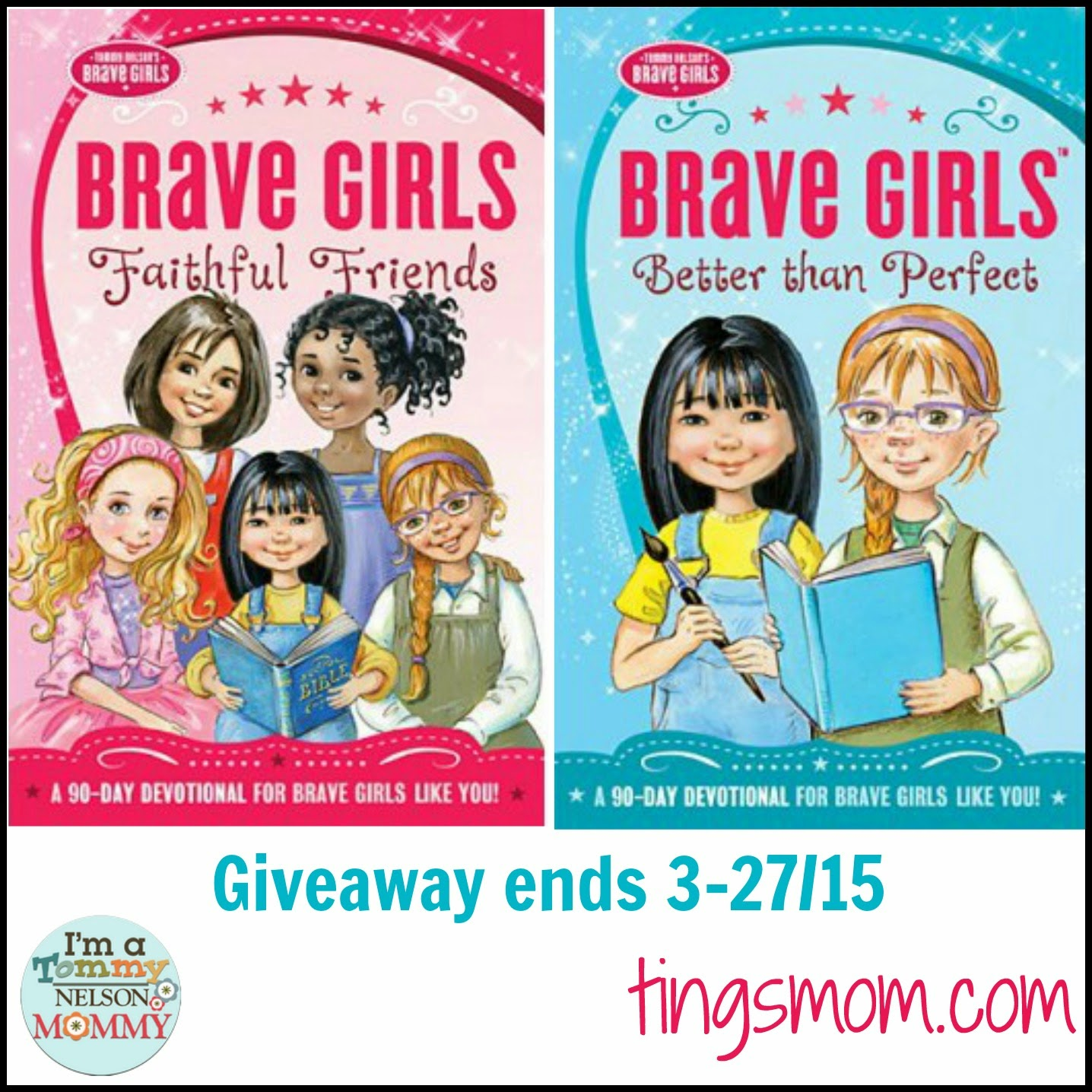 brave girls devotions giveaway