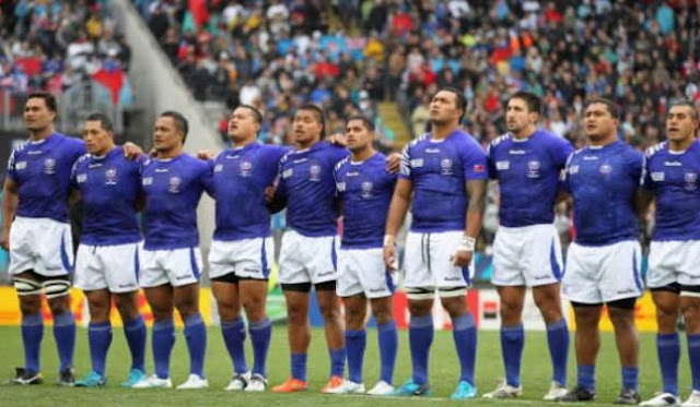 Rugby World Cup 2015 Samoa Squad