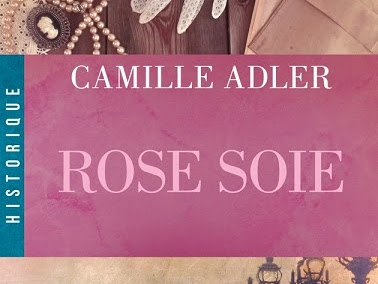 Rose soie de Camille Adler