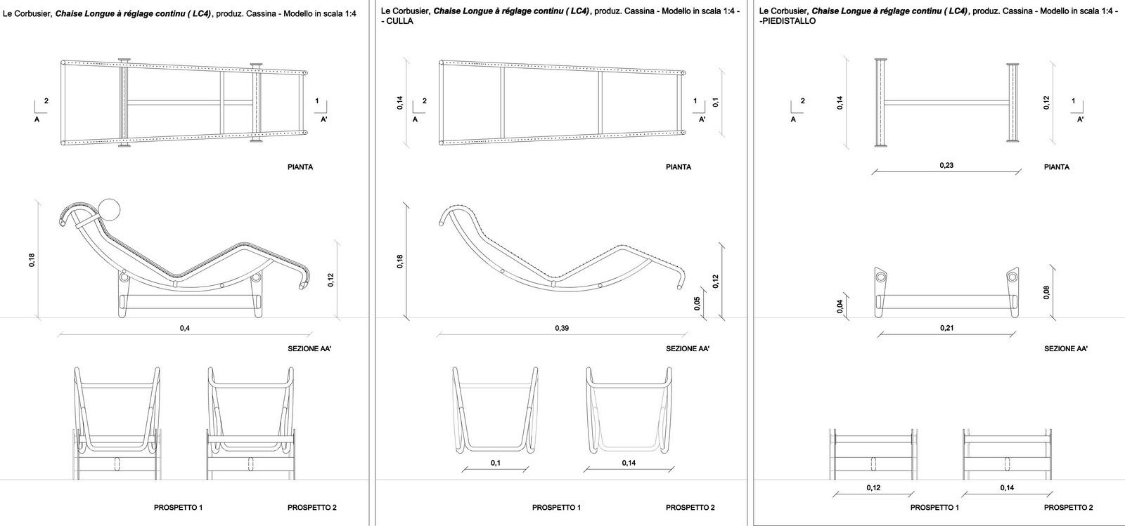 divano chaise longue dimensioni idee per il design della casa. Black Bedroom Furniture Sets. Home Design Ideas
