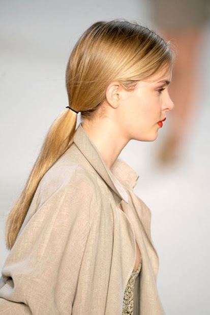 ponytail hairstyles 2013-14