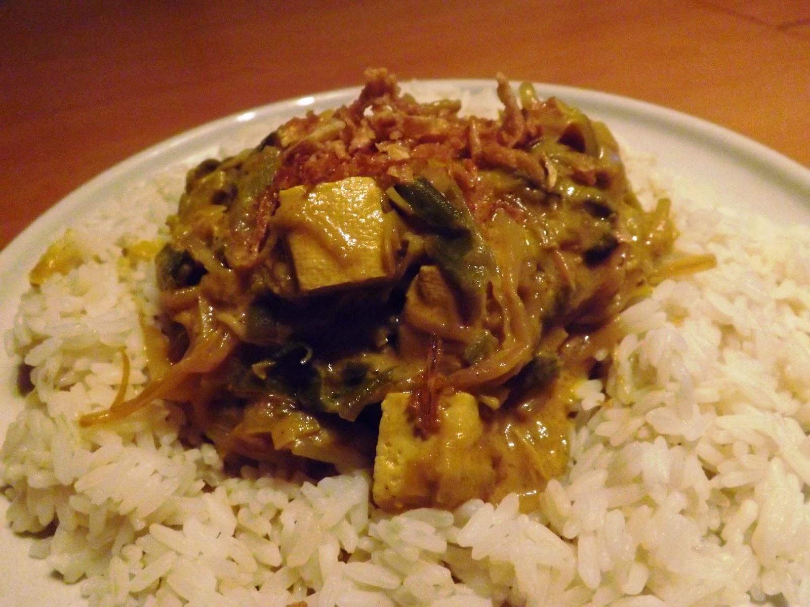 Celle qui cuisinait ou le plaisir de cuisiner mijot de - Cuisiner le tofu ferme ...