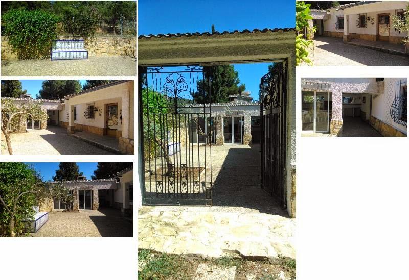 Els pinars de montagut fotos for Barbacoa patio interior