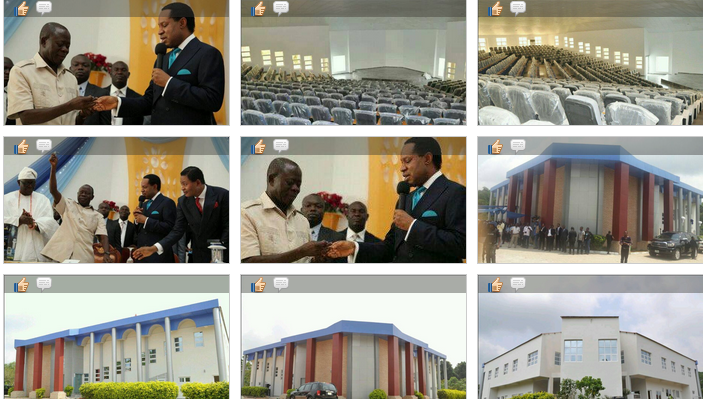 Chris Oyakhilome Donates Lecture Hall Edo, Nigeria photos
