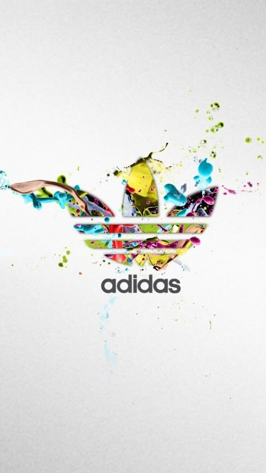 Adidas Colorful Logo Splash  Galaxy Note HD Wallpaper