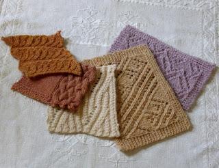 Campioncini lana islandese tinta naturalmente