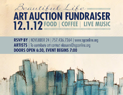 Art Auction Fundraiser benefitting Crisis Pregnancy Center of Tidewater