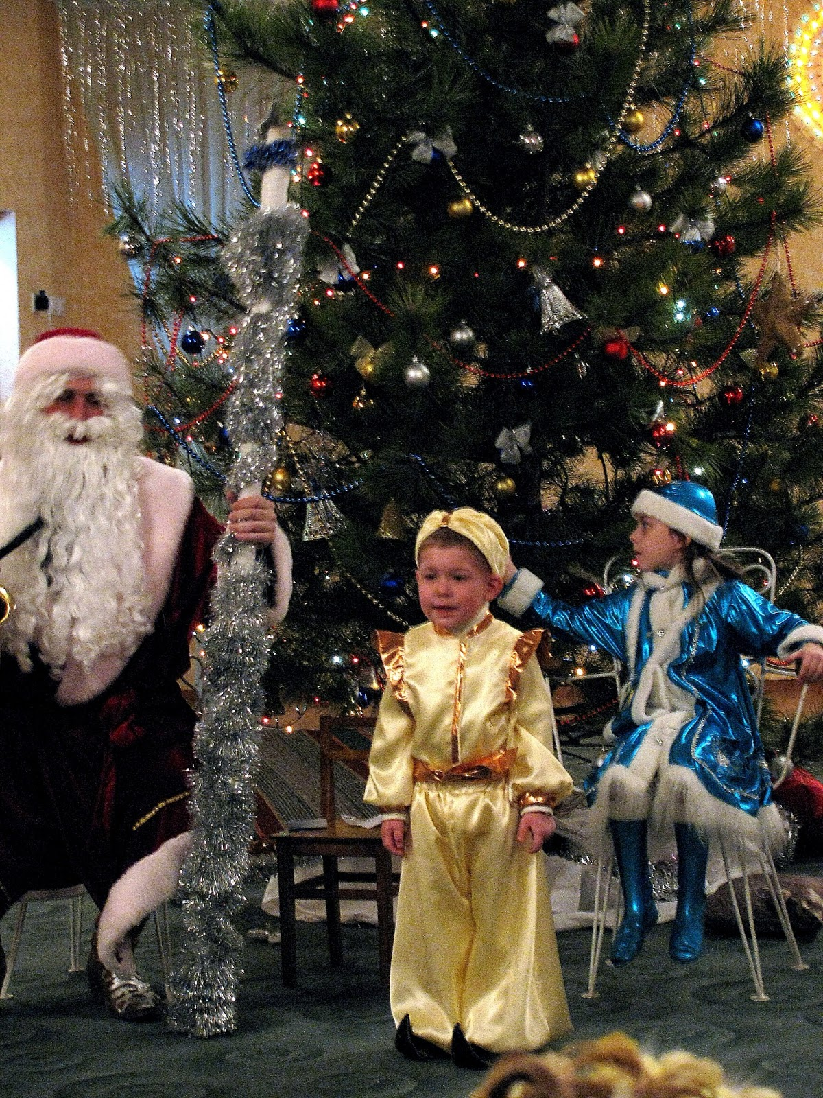 Новогодний костюм султана своими руками