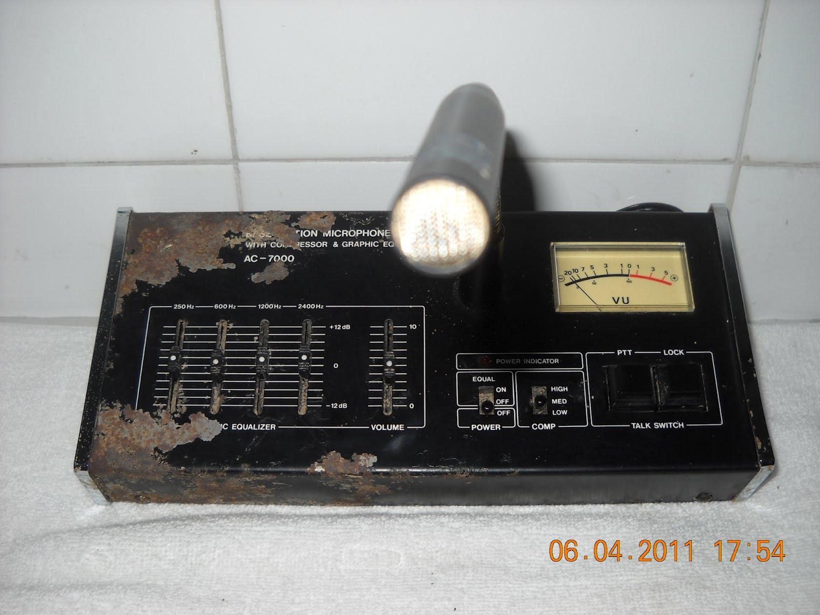 Sinar Agung Y C 2 V D I DESK MICROPHONE AC 7000