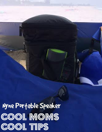 cool moms cool tips nyne portable speaker fits anywhere