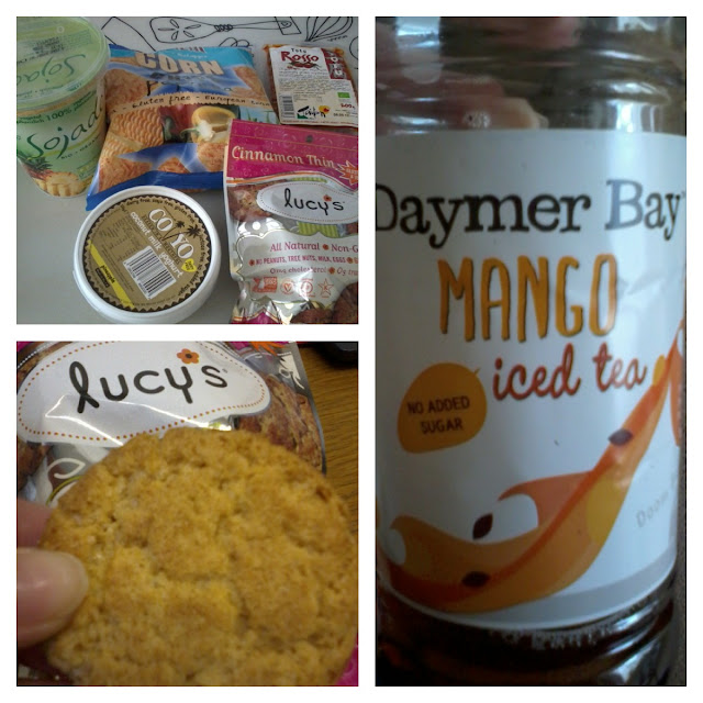 Sunday Catch Up - Daymer Bay Ice Tea & Lucy's Biscuits