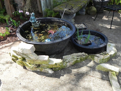 Gardening with soul for Rigid pond liner