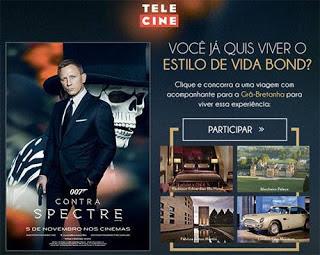 Participar Promoção Telecine Estilo de Vida James Bond