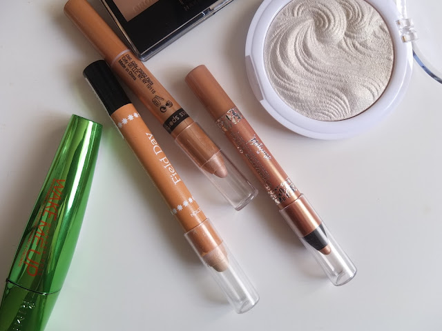budget gold eye shadow pencils