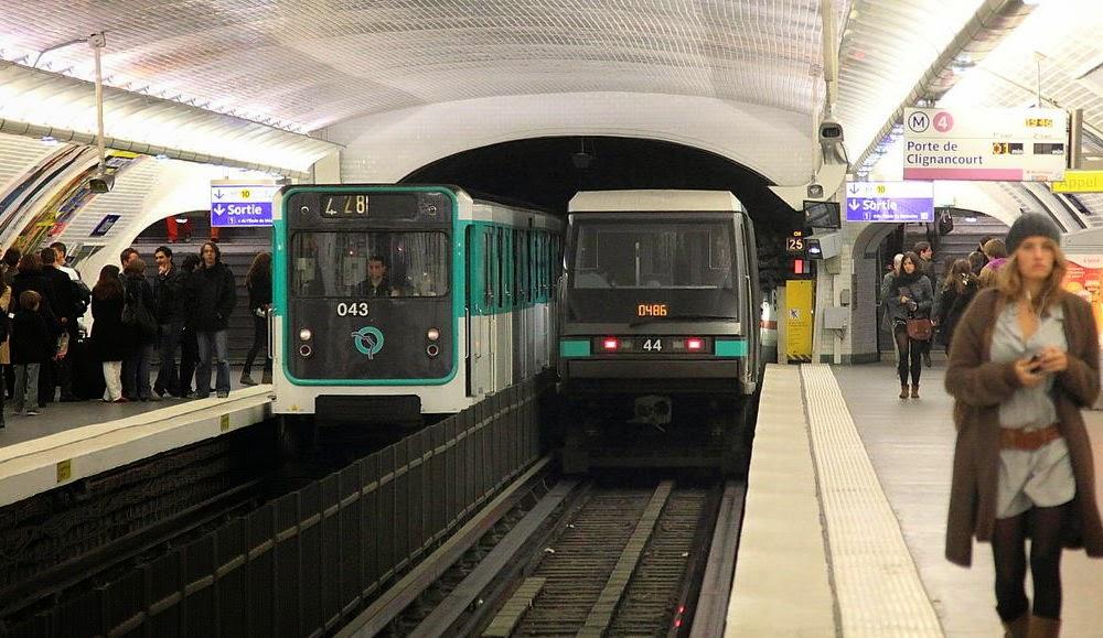 Dicas pr ticas de franc s para brasileiros transportes em - Metro gare de lyon porte de versailles ...