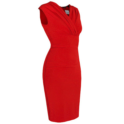 sophie theallet red silk body con dress