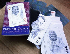 JAZZ PLAYING CARDS