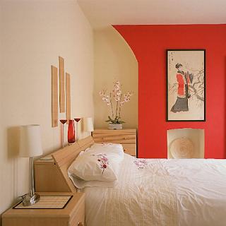Arredamento orientale camera da letto