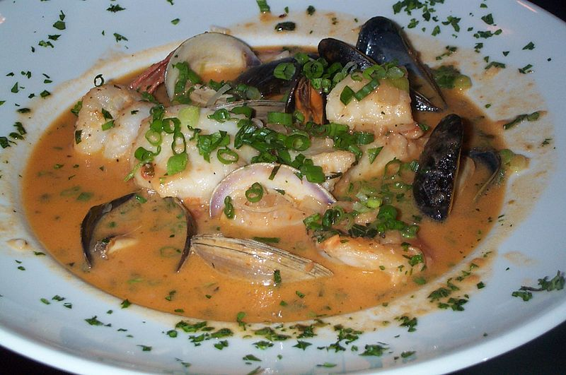 Bouillabaisse Photo By Stu Spivak Wikimedia Commons/Flickr