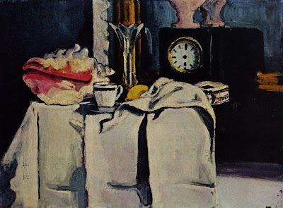 El rellotge de marbre negre (Paul Cézanne)