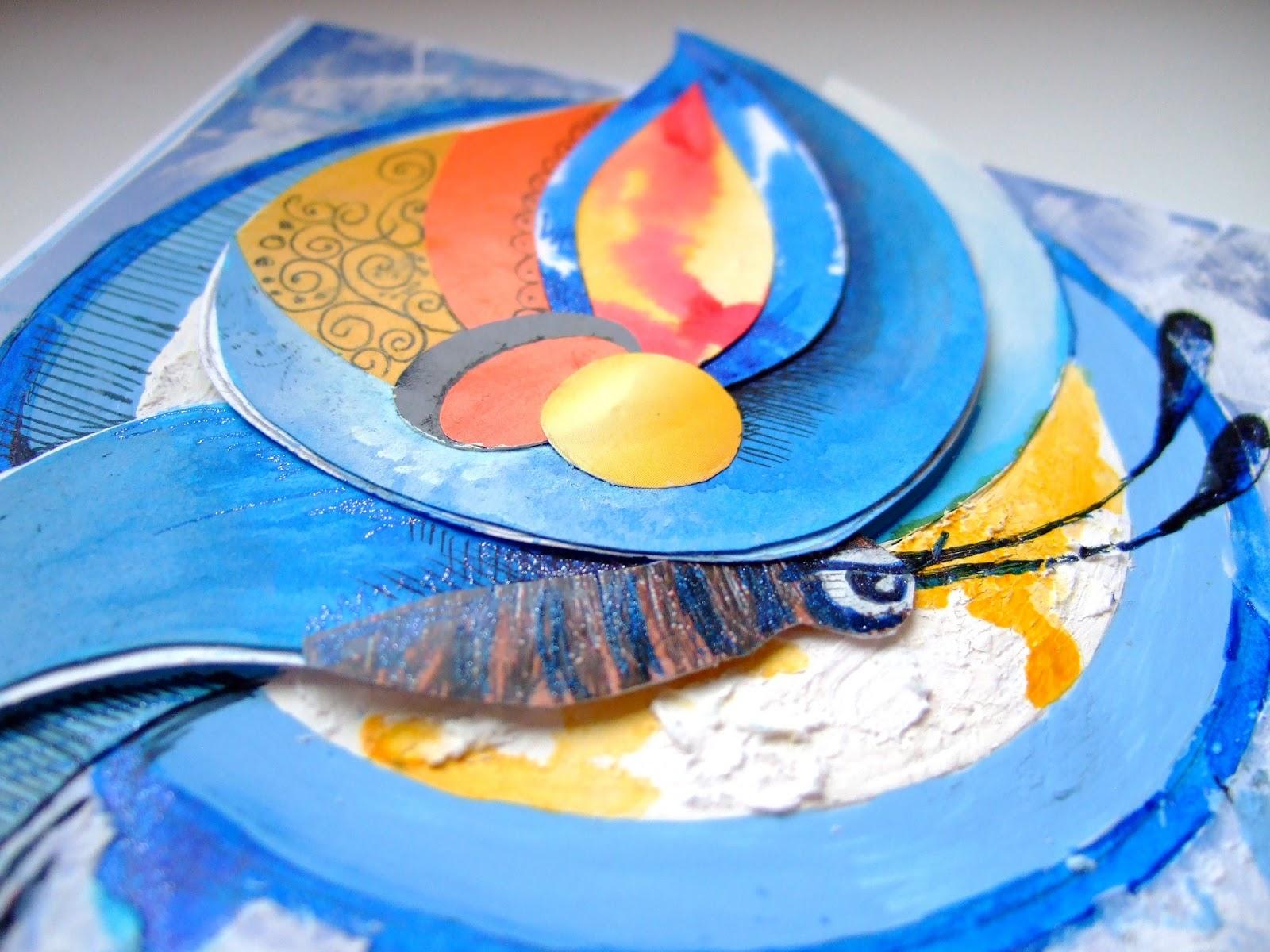 Голубая морфа