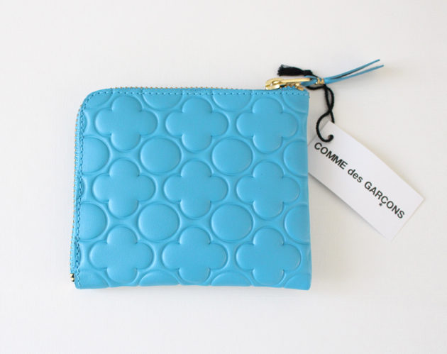 Comme Des Garcons wallet/coin purse in Sky Blue