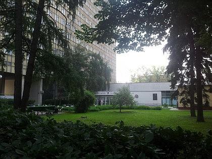 Сквер у Главного корпуса