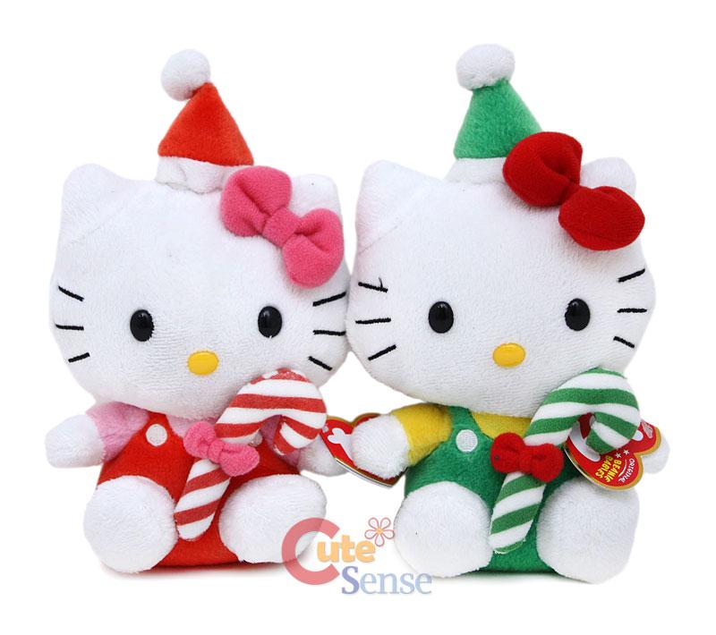 Toys For Hello Kitty : Hello kitty christmas plush toys forever