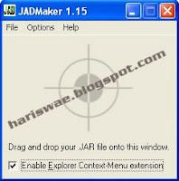 tips trik membuat file jad dari jar dengan jadmaker portable