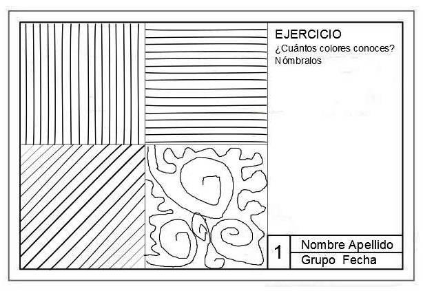 LISTADO de TRABAJOS 1º 2 C. NICOLICH | VISUAL et all