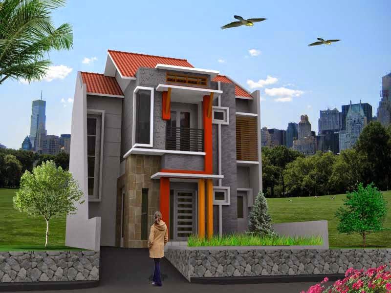 Minimalist-Home-Design-2-Floor-Model-Simple-House-Urban