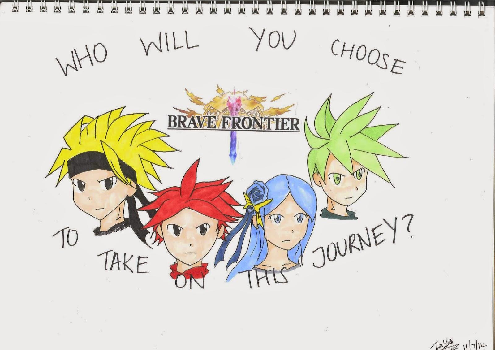 Brave Frontier Character Design Contest : Dark production yūjin brave frontier t shirt design