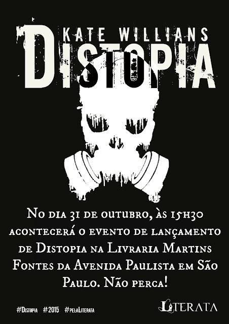 Distopia - KAte Willians - Lançamento