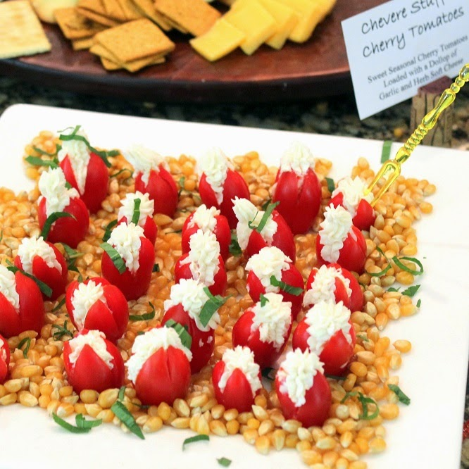 52 Ways to Cook: Goat Cheese and Mint Stuffed Cherry Tomatoes - 52 ...