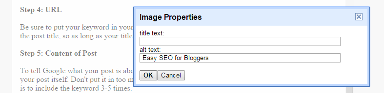 Easy SEO for Bloggers