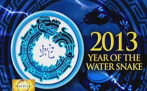 Bandila January 28 2013 Feng Shui Tips Year of the Water Snake