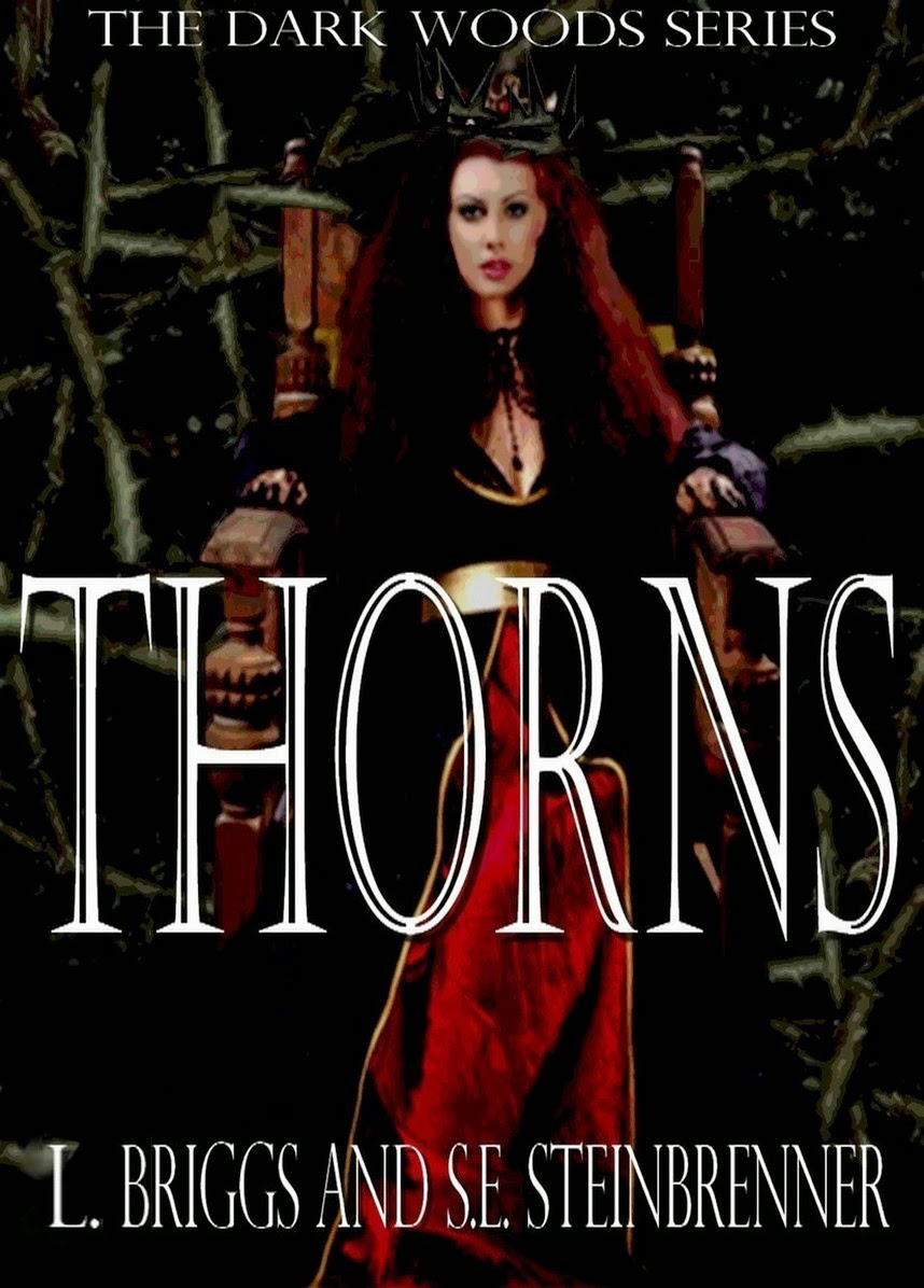http://www.amazon.com/Thorns-Dark-Woods-Book-8-ebook/dp/B00TEN7UFW/ref=sr_1_1?ie=UTF8&qid=1423690593&sr=8-1&keywords=thorns+laura+briggs