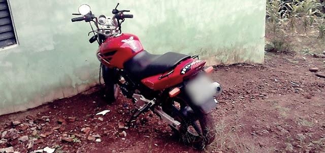 Iretama: PM recupera motocicleta e prende autor do furto