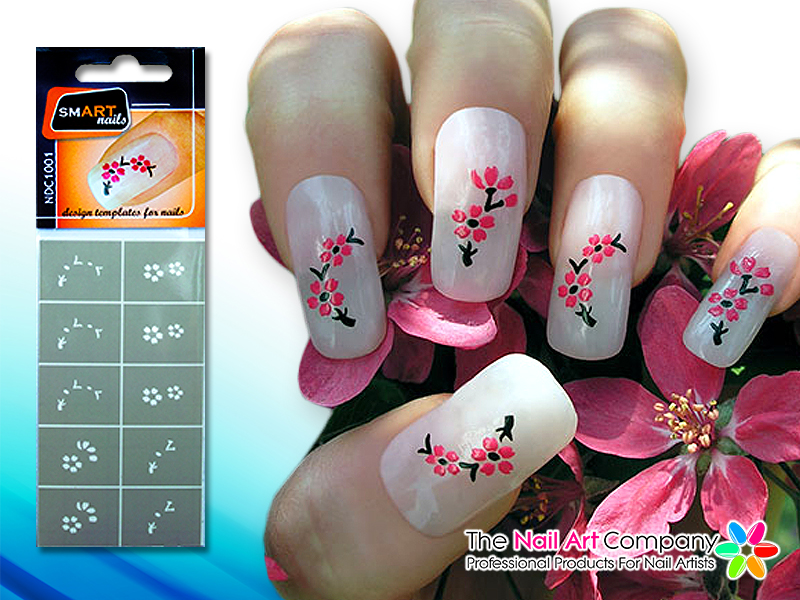 The Nail Art Company: SmART-nails Instant Nail Art Stencils - Just ...