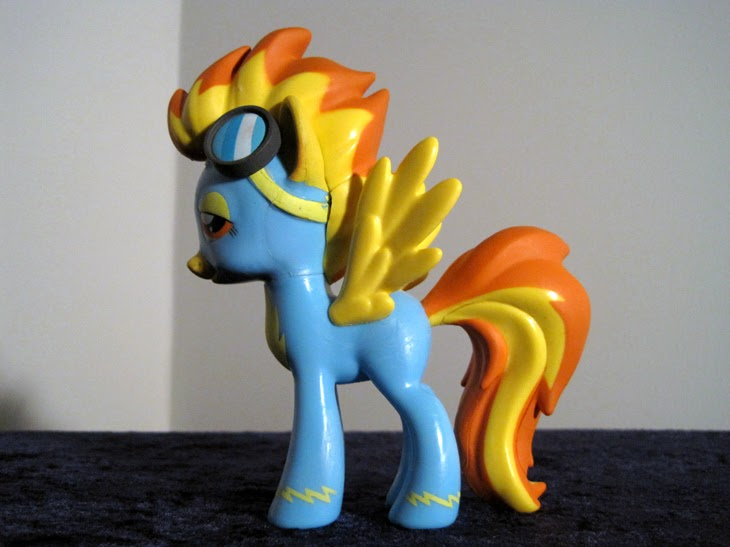 Funko Collectible MLP: FiM Spitfire figure.
