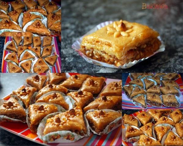 baklawa gateau algerien cuisine arabe