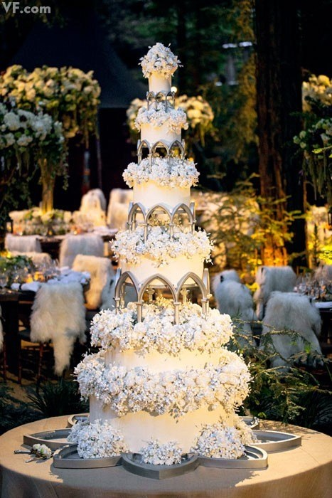 Sean Parker Lord of the Rings Wedding Cake
