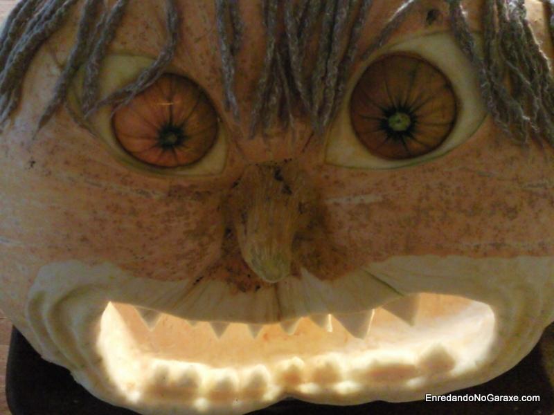 Linterna de Halloween, http://www.enredandonogaraxe.com