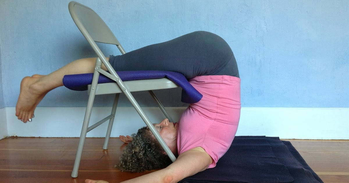 yoga for healthy aging featured pose supported plow pose