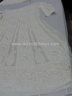 EID collection - Designer Anarkali - Full Closeup view
