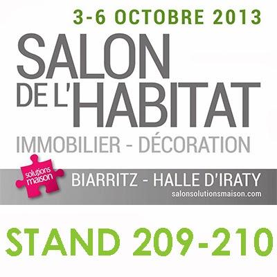 Maison passive au pays basque retrouvez nous au salon - Salon iraty biarritz ...